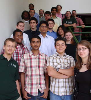 Group photo of Summer 2008 Participants